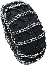 TireChain.com 26 X 10 X 12, 26 10 12 ATV UTV 2 Link Non V Bar Tire Chains