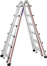 """801311 Hymer Teleskopanlegeleiter /""""ZoomMaster/"""" Sprossenzahl 11, Arbeitsh/öhe 3,70 m, mit Werkzeugtasche"""