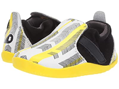 Bobux Kids Step Up Xplorer Aktiv Arrows (Infant/Toddler) (Black/Yellow) Kid