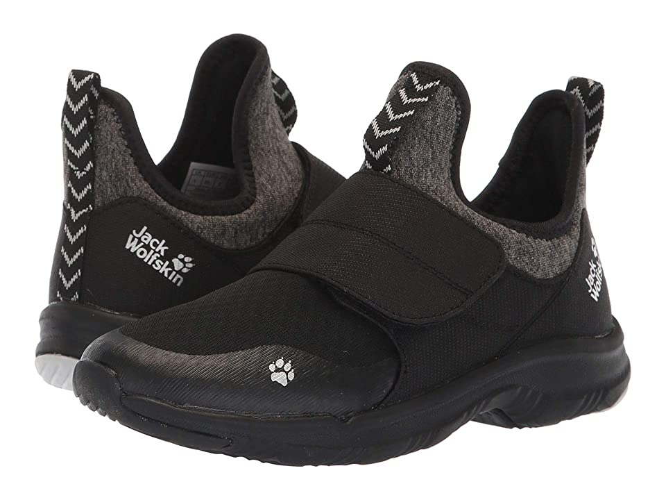 Jack Wolfskin Kids Heljar Low VC (Toddler/Little Kid/Big Kid) (Black) Kids Shoes