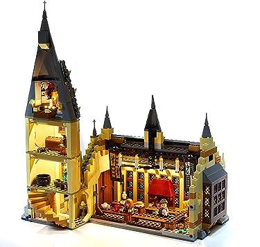 LED Lighting Kit for Lego Harry Potter Hogwarts Great Hall - 75954 (Lego Set NOT Included)