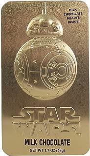 Valentine's Day Star Wars BB8 Candy Tins with Milk Chocolate Hearts, 1.7 oz (BB8)