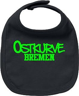EZYshirt Ostkurve Bremen Baby Lätzchen Halstuch