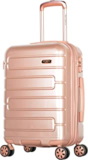 """Olympia Nema 22"""" Exp. Carry-on Spinner, Rose Gold, One Size"""