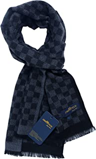 Scarf JIMIARTECH Long Thin Soft Woven Scarf for Men&Women Large Selection Unique Designs for Winter Spring