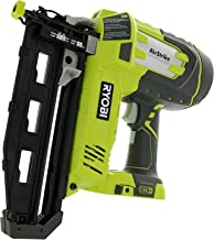 Ryobi P325 One+ 18V Lithium Ion Battery Powered Cordless 16 Gauge Finish Nailer (Battery..