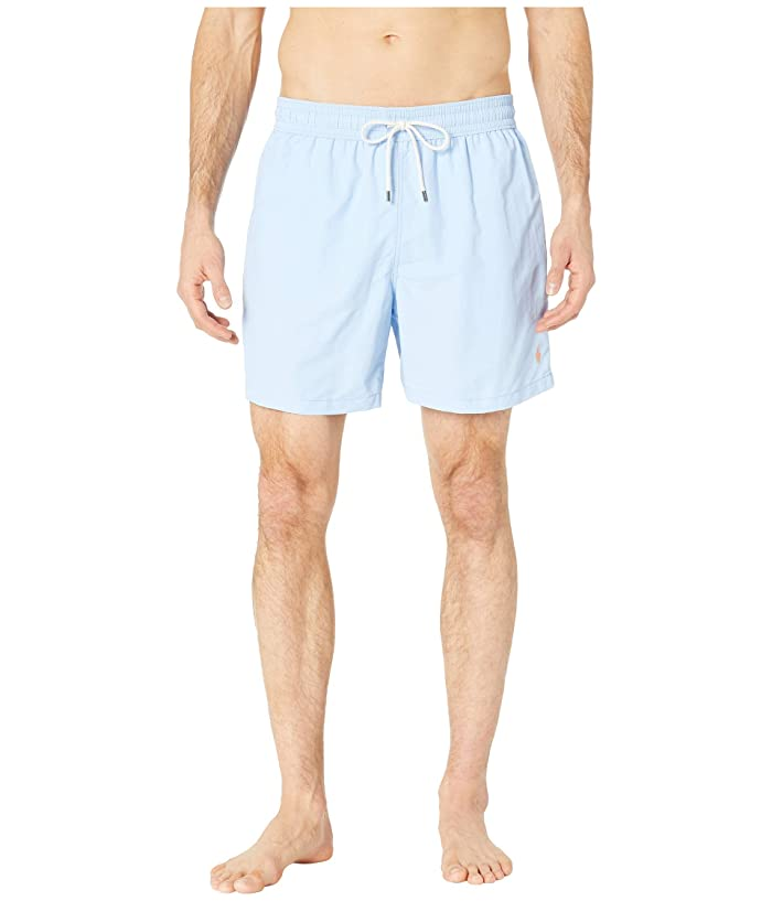 Polo Ralph Lauren Nylon Traveler Swim Shorts (Baby Blue) Men