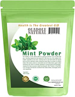 Oladole Natural 100% Natural Mint Powder Non-GMO and Gluten Free | Peppermint powder | Supports Digestion | Adds Flavor