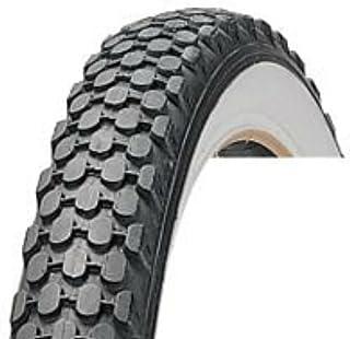 Duroタイヤ(ダンロップ協力工場)24x2.125(57-507)ホワイトリボンビーチクルーザタイヤ 1本+米バルブチューブリムテープ1個