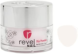 Revel Nail Dip Powder   for Manicures   Nail Polish Alternative   Non-Toxic & Odor-Free   Crack & Chip Resistant   Can Last Up to 8 Weeks   2 oz Jar   Sheer   (Tara, 2.0 oz)