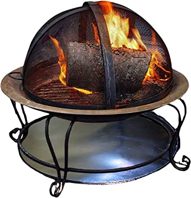FirePad Deck Protector 36'', Fire Pit High Temp Mat, Heat Shield Protects Grass, Patio, Deck, Fire Resistant Pad for Outdoors, Bonfires, Under Grill Mat, BBQ Mat, Made in USA