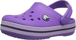 Crocband Purple Boys Clog