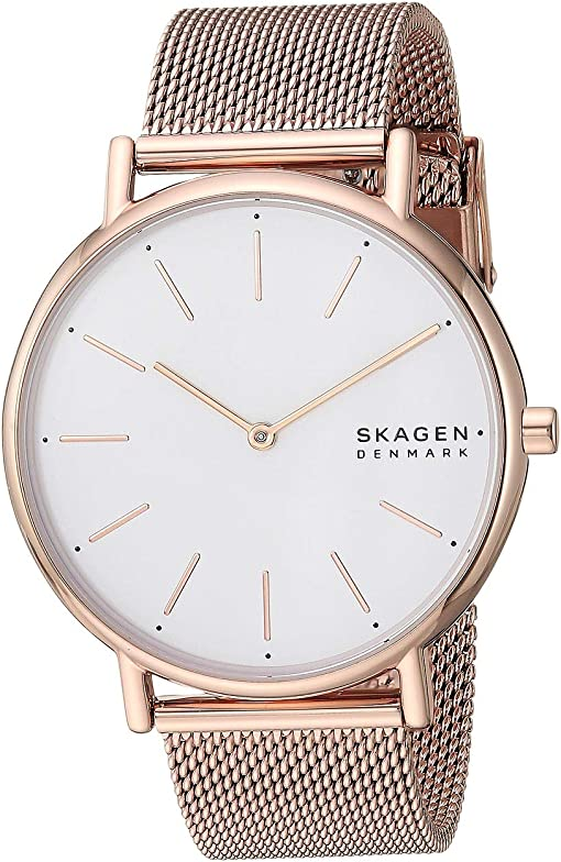 SKW2784 Rose Gold Stainless Steel Mesh