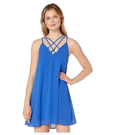American Rose Elena Strappy Dress (Royal) Women