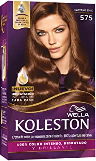 Wella Koleston Coloracion Permanente en Crema, 575 Castaño Chic