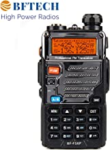 BFTECH BF-F5XP 5 Watt Dual Band Radio 136-174mhz (VHF) 400-520mhz (UHF) Amateur (Ham) Portable Two-Way Radio