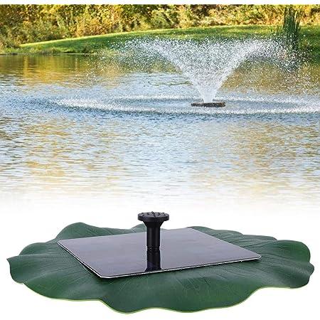 Amazon.com : Blusea High-Power Solar Landscape Fountain 17V 10W Equipment  Solar Water Pump Garden Fountains Decorative Fountain : Garden & Outdoor