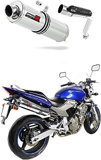 CB 600 F Hornet Escape Moto Deportivo Redondo Silenciador Dominator Exhaust Racing Slip-on 2003 2004 2005 2006