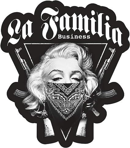 Aufkleber La Familia Business Wetterfest Auto