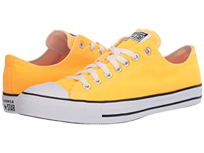 Converse Chuck Taylor All Star Seasonal Ox (Laser Yellow) Athletic Shoes