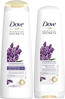 Dove Thickening Ritual Shampoo Lavender, 400 ml + Conditioner 320 ml.
