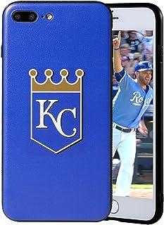 "Sportula MLB Phone Case Matching 2 Premium Screen Protectors Extra Value Set - for iPhone 7 Plus/iPhone 8 Plus (5.5"") (Kan..."