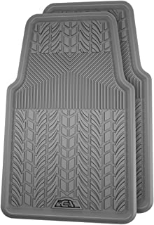 Connected Essentials 5032240 Tailored Heavy Duty Custom Fit Car Mats Grey with Blue Trim 2007-2013 for Peut 308 Premium
