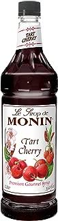 Monin Tart Cherry Syrup, 1 Liter -- 4 per case.