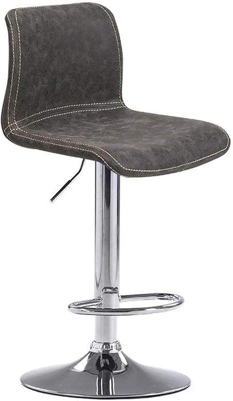 HZYDD Comfortable Bar Stool Max 51% OFF Chair Sw Circular Popular overseas Hydraulic Lift