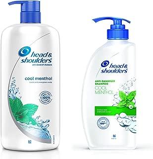 Head & Shoulders Cool Menthol Shampoo, 1L and Head & Shoulders Cool Menthol Shampoo, 675ml