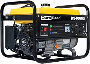 DuroStar DS4000S Gas Powered Portable Generator- 4000 Watt-Recoil Start-Camping & RV..