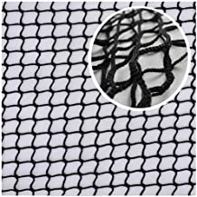 Netting for Balcony,Baby Stair Net Safety Kids Railing Ball Stop Stopping Netting Nylon Backstop Goal Net Nets Golf Course Barrier Replacement Protection Rope Children Rail Stairs Indoor Outdoor,Black