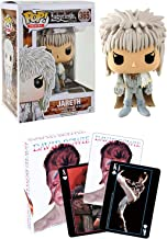 Funko Playing The Goblin King Jareth David Bowie Figure Vinyl Pop! with Orb Movies Bundled with Image Deck of Cards David Bowie Rock Edition 2 Items