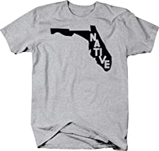 Florida Native Home Love State South caps Sunshine T Shirt for Men