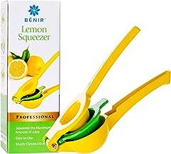 LAST DROP Professional Lime Juicer & Lemon Squeezer – – Easily Capture Every Last..