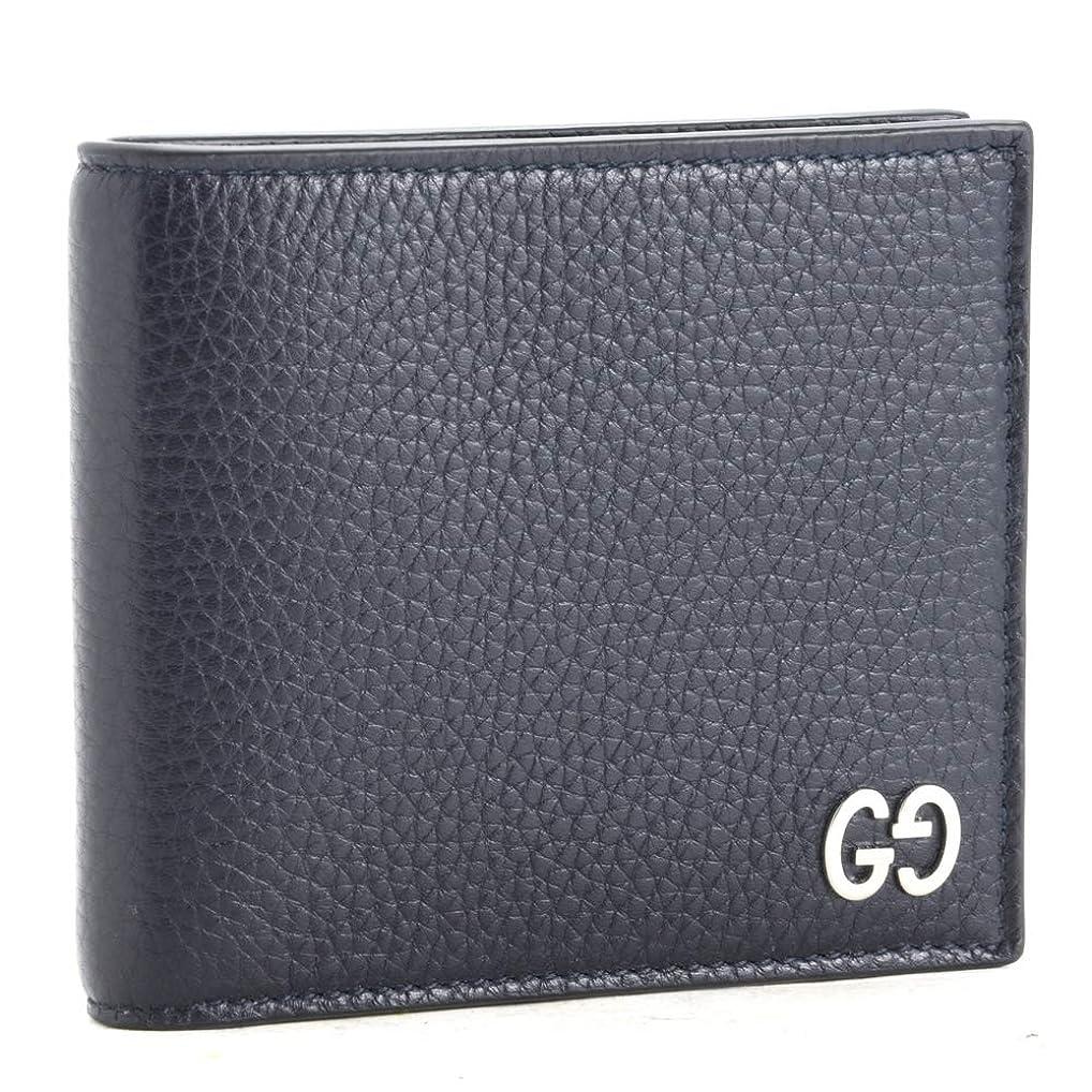 嬉しいですシーフード測定(グッチ) GUCCI 財布 折財布 473922 A7M0N ネイビー系(4009/BLU) 【DORIAN:?????】 [並行輸入品]