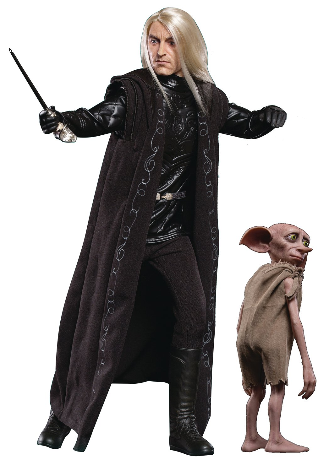 Star Ace Toys Harry Potter MFM Action Figure 2-Pack 1/6 Lucius Malfoy & Dobby 15-30 cm: Amazon.es: Deportes y aire libre