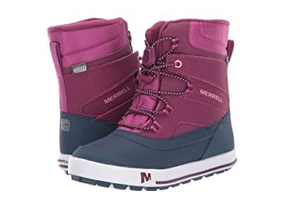 Merrell Kids Snow Bank 2.0 Waterproof (Toddler/Little Kid) (Berry) Girls Shoes