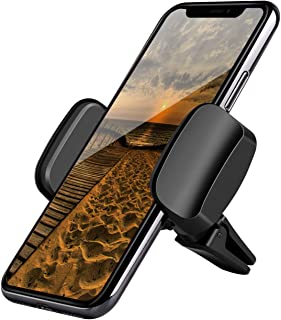 MANORDS Universal Air Vent Cell Phone Holder,Car Phone Mount with One More Windshield Base Compatible iPhone X/ 8/ 8PLUS/ 7 Samsung Galaxy S9/S8/S7 Note 9 and More
