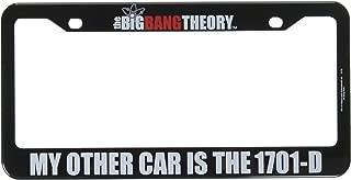 Home Locomotion Big Bang Theory/Star Trek 1701-D License