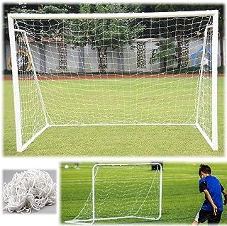 Fotboll tornet hållbar fotbollsnätverk ersättning fotbollstornät för torpfostram i originalstorlek storlek 6x4/8x6/12x6/24...