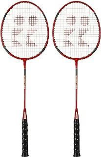 Mor Sporting KNX Aluminum-Shaft Badminton Racquet Set of 2 (CI-410)