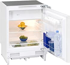 Exquisit Unterbaukühlschrank UKS 130-1.2 A | Unterbaubaugerät 116 L Nutzinhalt | weiß