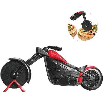 Motorrad Pizza Cutter Pizza Kuchen Roller Slicer Küchenhelfer Edelstahl