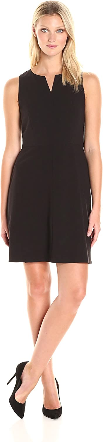 Kensie Womens Stetch Cepe Dress Dress