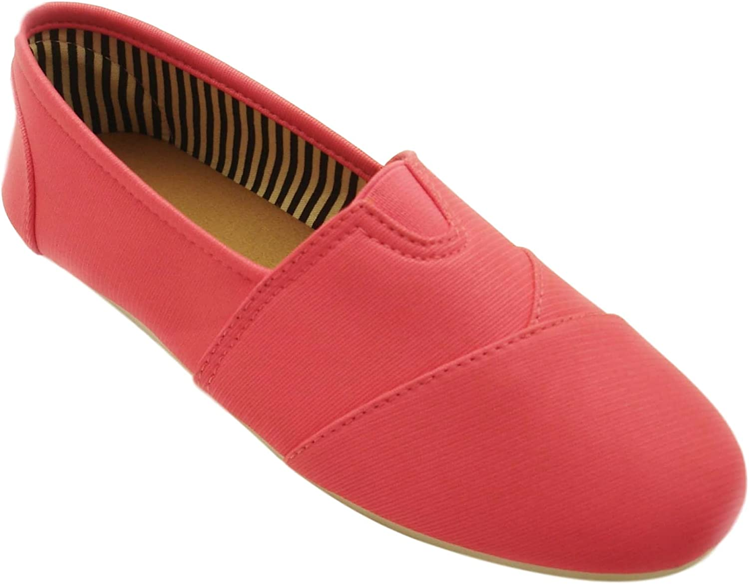 TravelNut Graduation Day Special Sale Sarah Casual Slip On Fabric Flats for Women and Girls (Assorted colors)