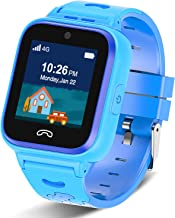Kids Smartwatch Phone 4G with Sim Card, Anti-Lost WiFi LBS GPS Tracker Game Watch..