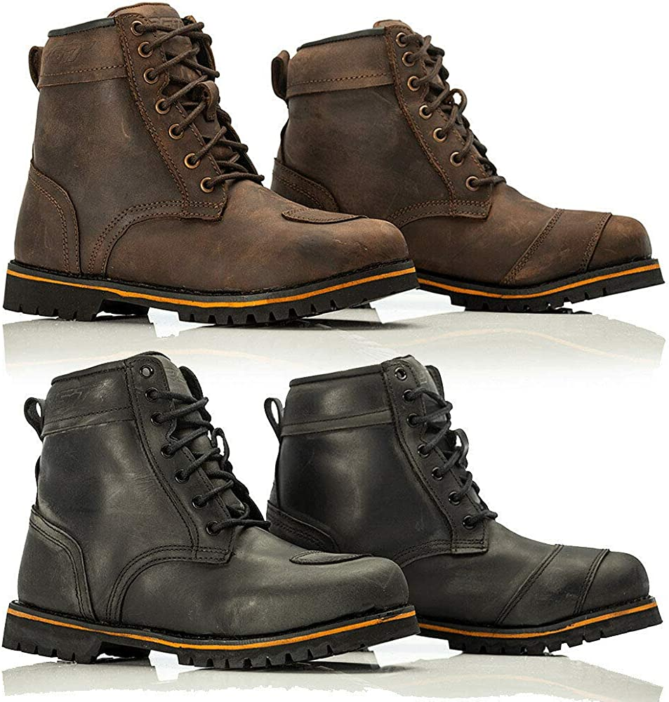 RST 2146 ROADSTER II SHORT ANKLE MOTORBIKE BOOTS - Motorcycle Mens Bike  Riding CE Approved Waterproof Leather Lace Up Casual Touring Boots:  Amazon.co.uk: Shoes & Bags
