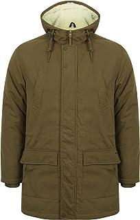 Tokyo Laundry Parton Hooded Parka Jacket in Amazon Khaki S