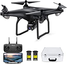 Potensic D58 Drone with 4K Camera for Adults, 5G WiFi HD Live Video, GPS Auto Return, RC Quadcopter for Adult, Portable Ca...